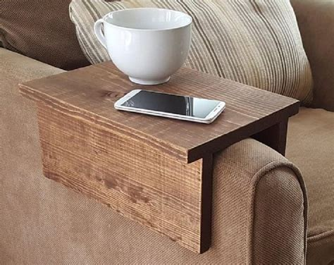 Couch Arm Table Diy