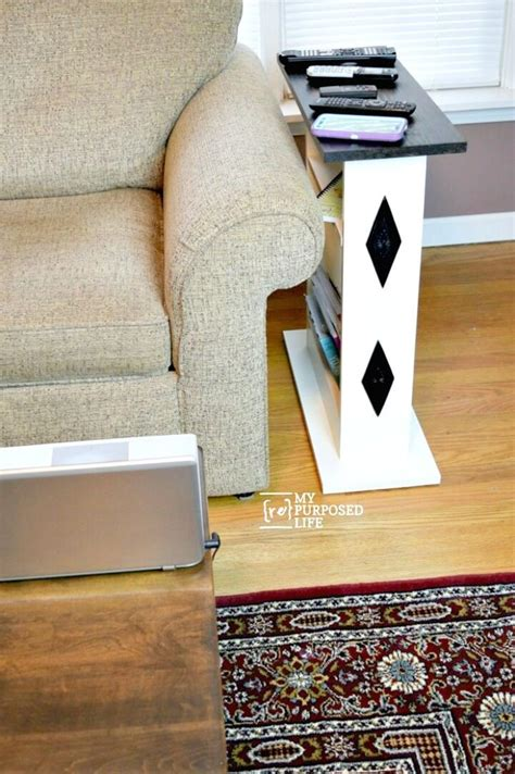 Couch Side Table Diy Plans