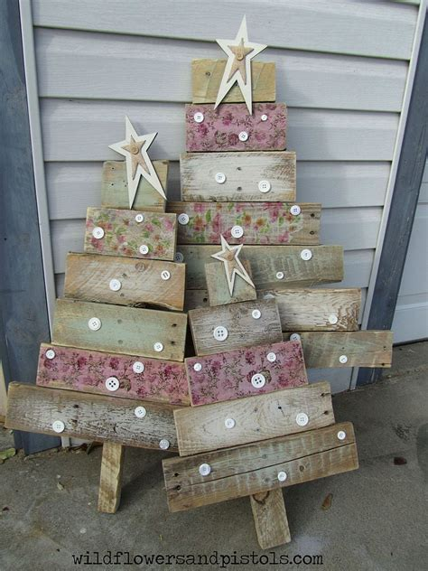 Countertop Diy Wooden Christmas Trees