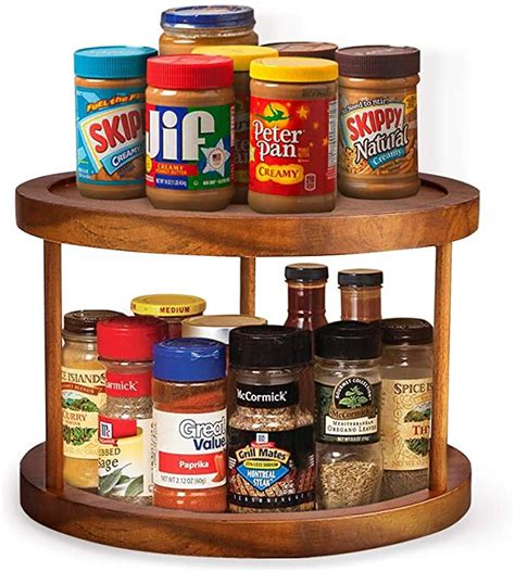 Countertop Spice Rack Lazy Susan