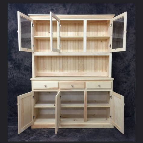 Country Buffet And Hutch Plans
