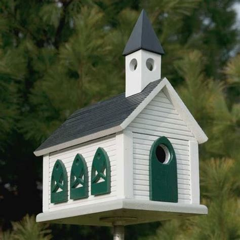 Country Church Birdhouse Plans