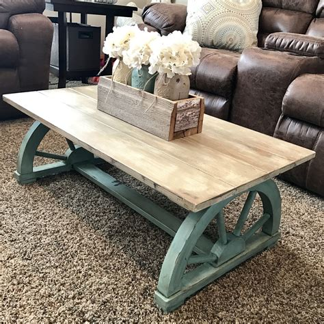 Country Coffee Table Diy 6