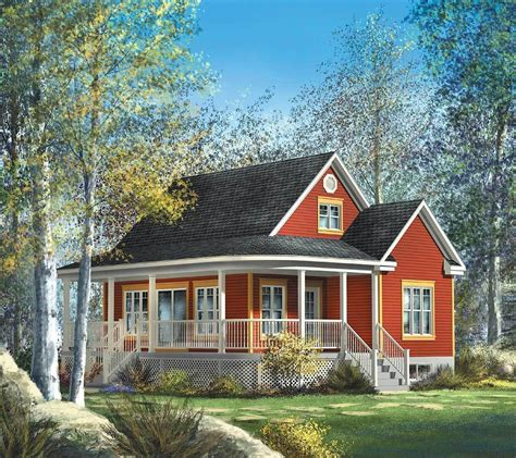 Country Cottage Farmhouse Plans