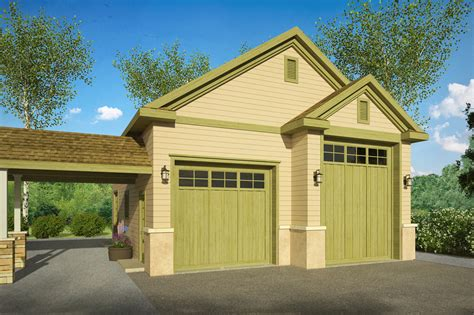 Country Home Floor Plans With Rv Garages