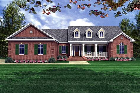 Country House Plans With Porches Under 2000 Square Feet