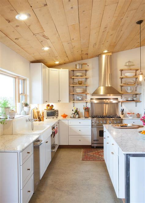 Country Kitchen Plank Countertops