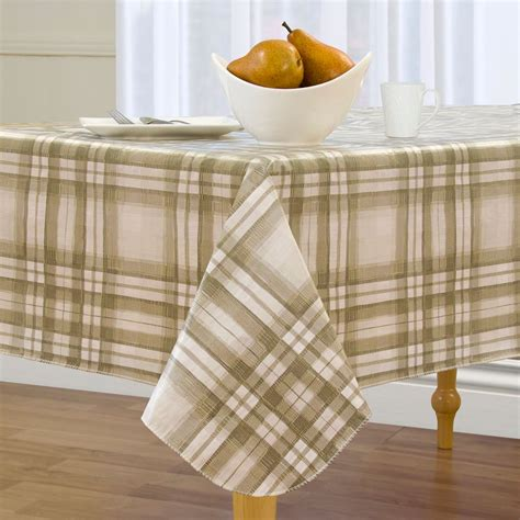 Country Tablecloths With Flannel Backing