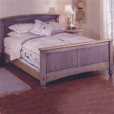 Country fresh bed woodworking plan free Image