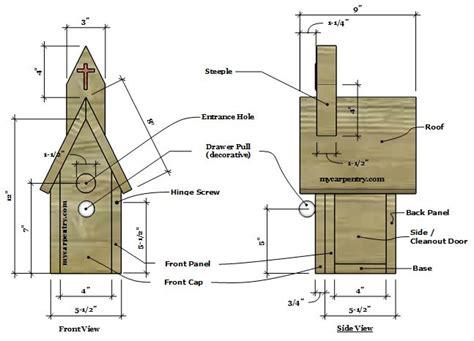Country-Church-Birdhouse-Plans