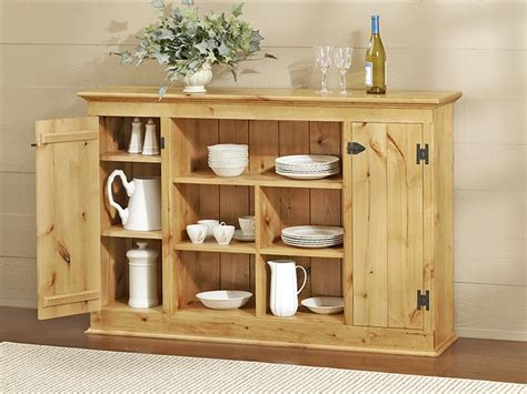 Country-Sideboard-Plans
