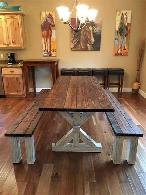Country-Style-Kitchen-Table-Diy