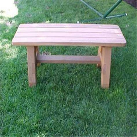 Country-Wooden-Bench-Plans