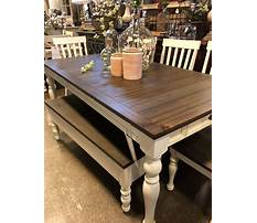 Best Country dining room table plans