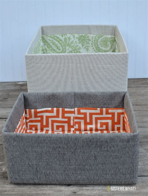 Cover Box In Fabric Diy