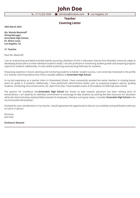 Sample Cover Letter For Business Operations Manager Indian