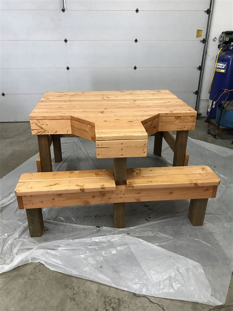 Covered Shooting Bench Plans