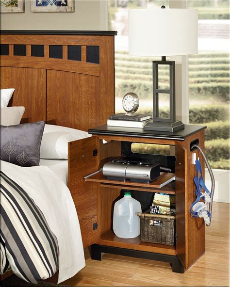 Cpap Nightstand Plans With Gun