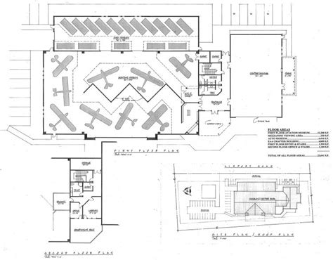 Cradle Of Aviation Museum Floor Plan