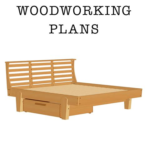 Craft Plans Woodworking Platform Bed