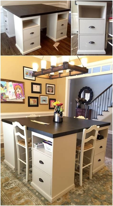 Craft Room Table Ideas Diy