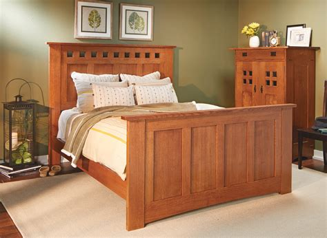 Craftsman Bed Woodworking Plans