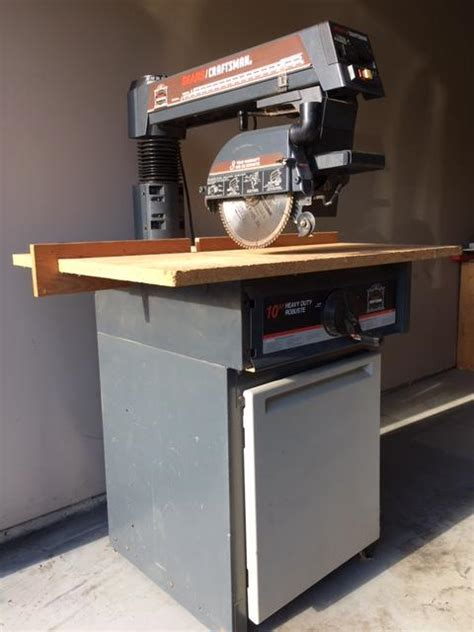 Craftsman Cabinet Makers Radial Arm Saw