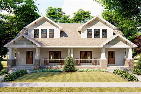 Craftsman Duplex Plans