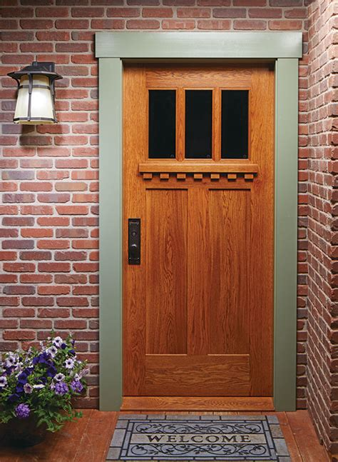 Craftsman Front Door Plans