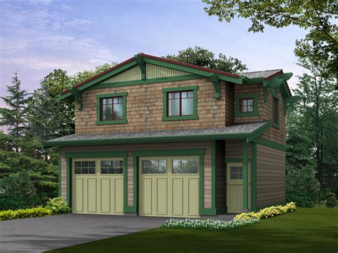 Craftsman Garage Plans With Apartment