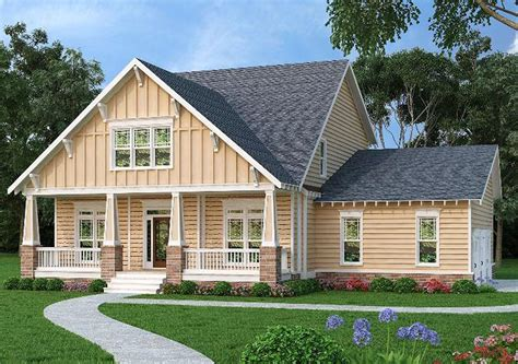 Craftsman House Plans With Side Garage