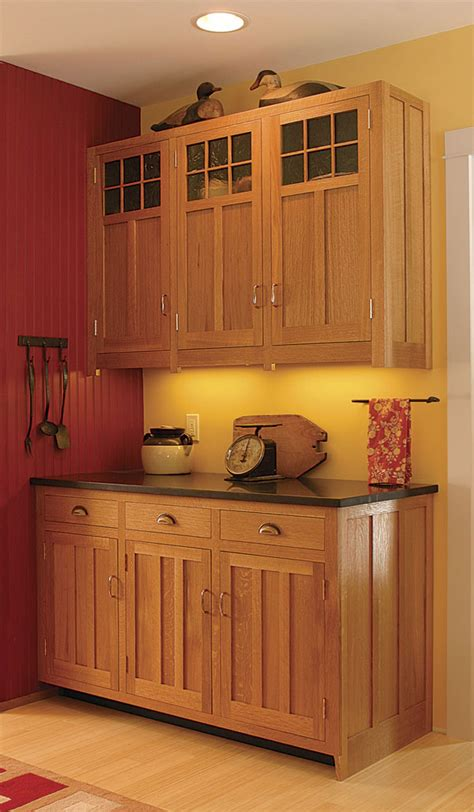 Craftsman Style Cabinet Door Plan