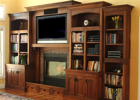 Craftsman Style Entertainment Center Plans