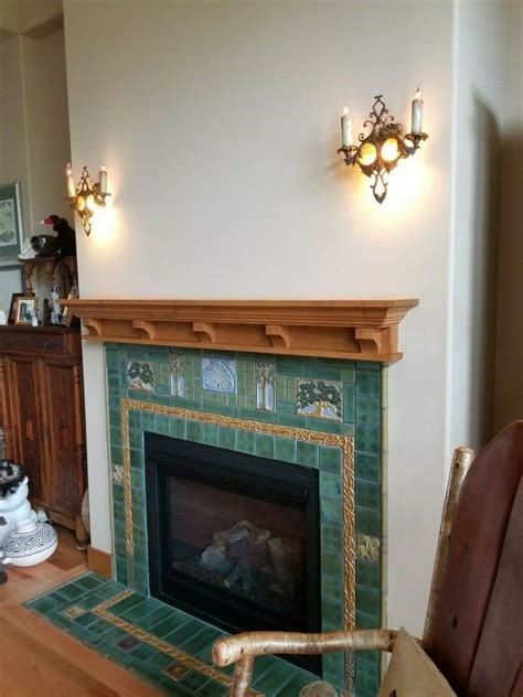 Craftsman Style Fireplace Mantel Plans PDF