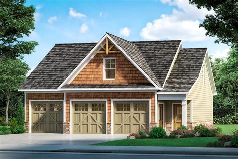 Craftsman Style Home Plans With Detached Garage