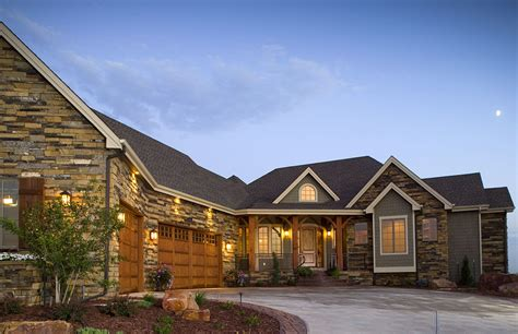 Craftsman Style House Plans With Angled Garage