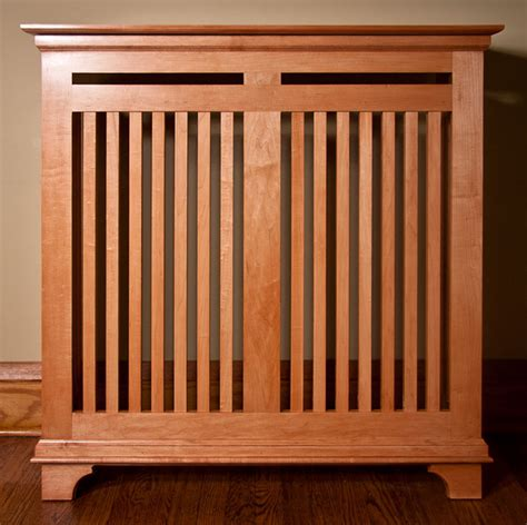 Craftsman Style Radiator Cover Plans