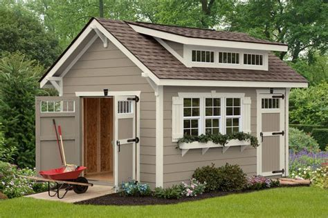 Craftsman Style Shed Plans