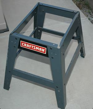 Craftsman Table Saw Stand Plans