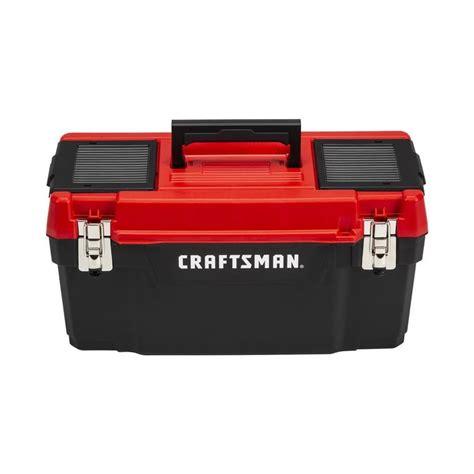Craftsman-Diy-20-In-Red-Plastic-Tool-Box