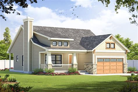 Craftsman-Homes-Plans-With-Shed-Dormers