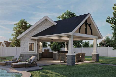 Craftsman-Patio-Home-Plans
