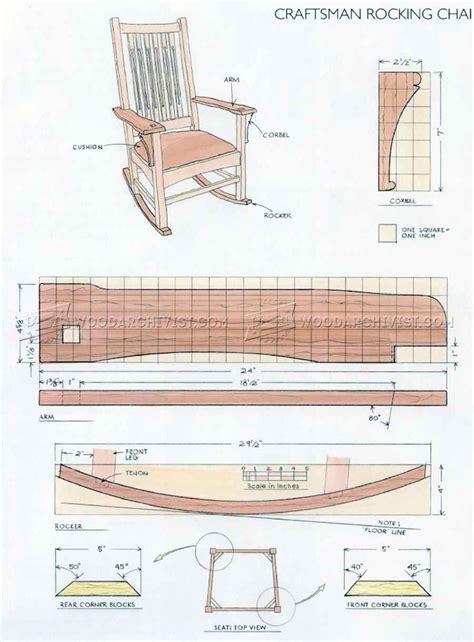 Craftsman-Rocking-Chair-Plans