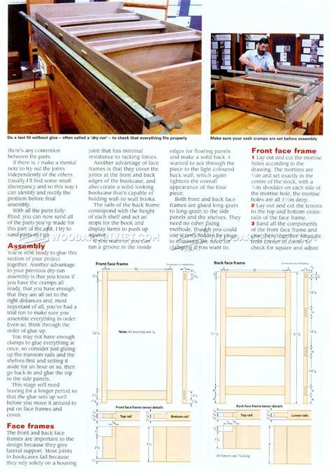 Craftsman-Style-Bookcase-Plans