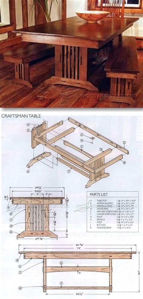 Craftsman-Style-Furniture-Plans