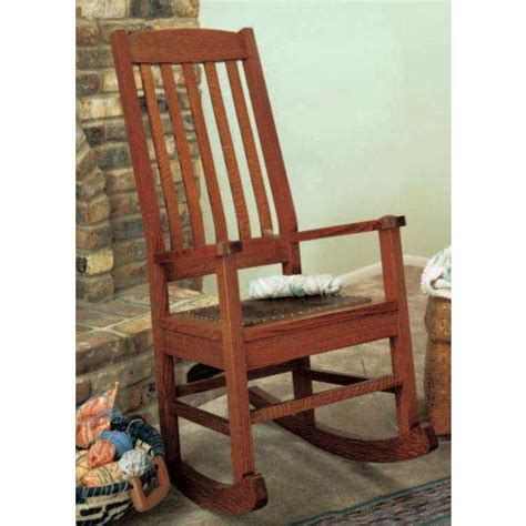 Craftsman-Style-Rocking-Chair-Plans
