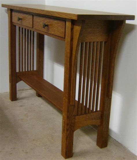 Craftsman-Style-Sofa-Table-Plans