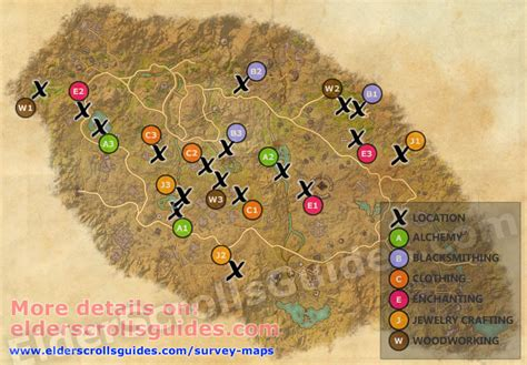 Craglorn-Woodworker-Survey-Treasure-Map