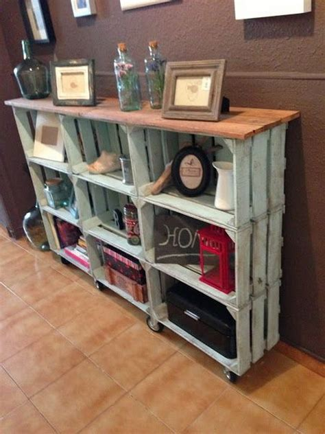 Crate Console Table Diy