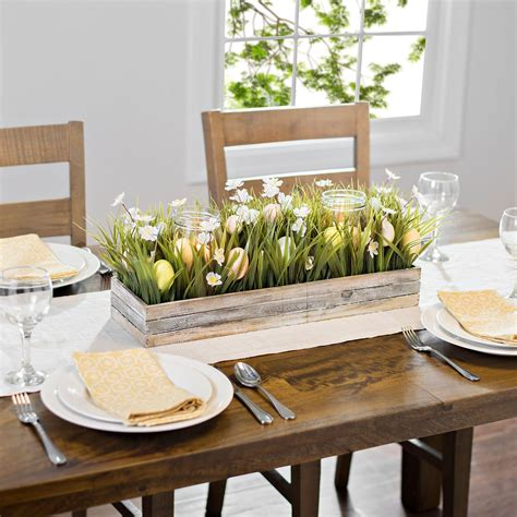 Crate Dining Table Diy Centerpiece